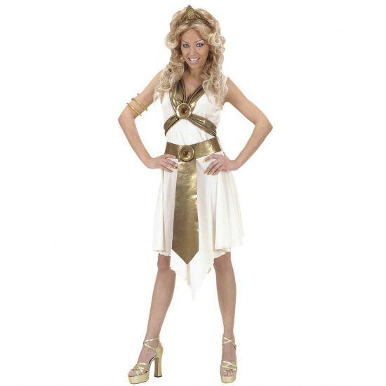 Romeinse kostuums voor vrouwen  Romeinse godin kostuum voor dames. Dit Romeinse godin kostuum voor dames bestaat uit een jurk een riem en een tiara. Dit Romeinse godin kostuum is ook te gebruiken als vrouwelijke Gladiator kostuum. Accessoires voor dit Romeinse kostuum kunt u vinden in deze shop.  EUR 45.95  Meer informatie
