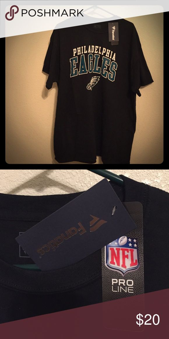 Philadelphia Eagles team shirt. Brand spanking new ProLine NFL team shirt! A must have for a true fan! Fanatics Shirts Tees - Short Sleeve