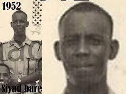 Siad Barre em 1952.