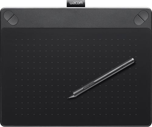 Wacom - Intuos Art Creative Small Pen and Touch Tablet - Black