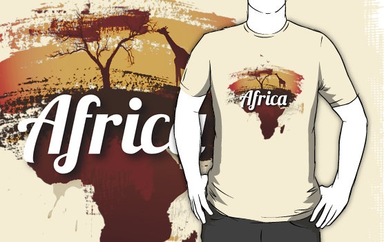 """Africa"" T-Shirts & Hoodies by foofighters69 