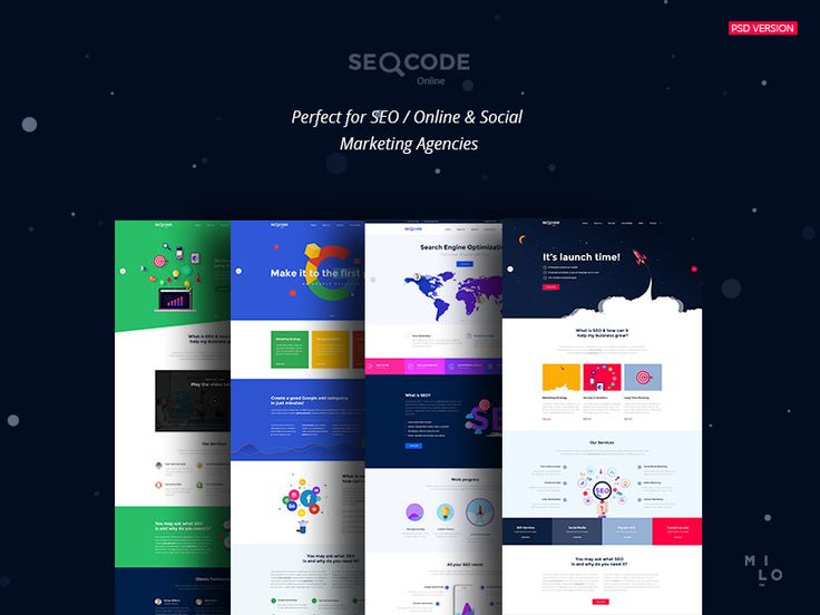 SeoCode - The Ultimate SEO & Online Marketing PSD Template by Milo Themes