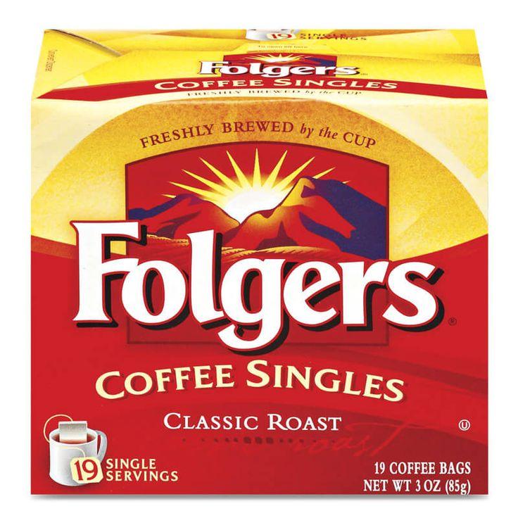 Classic Roast Singles – Folgers Coffee