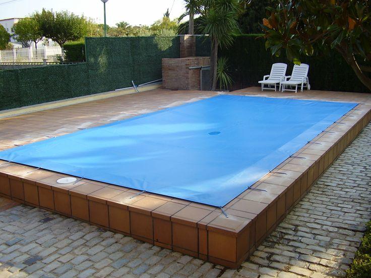 Tendal per a cobrir piscina