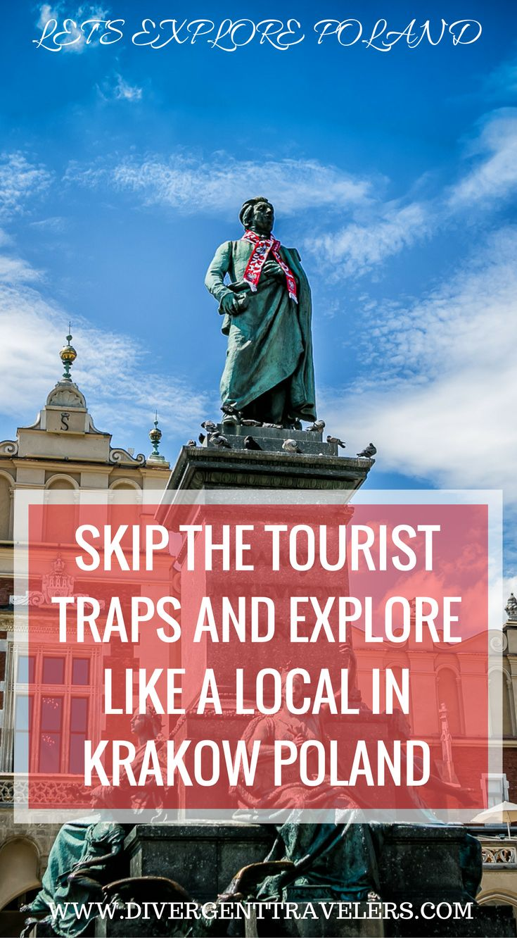 Skip the tourist traps and explore Krakow Poland like a local. Our Krakow Poland 3 Day Krakow Itinerary – Things to Do in Krakow guide was put together by a local who lived in Krakow for 5 years. Experience places in Krakow Poland that only locals know about where there will be no to little tourist. Click to read more at https://www.divergenttravelers.com/things-to-do-in-krakow-poland/ #Poland #Travel #Krakow #Guide