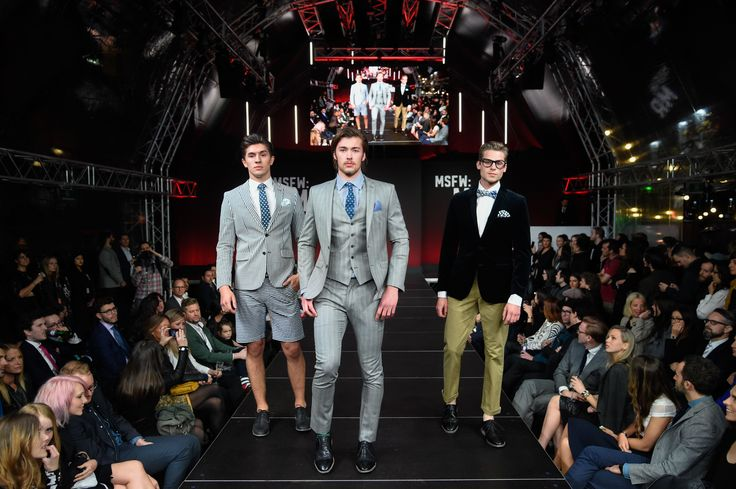#MSFW MR Designer: Ben Sherman Image by Lucas Dawson Photography