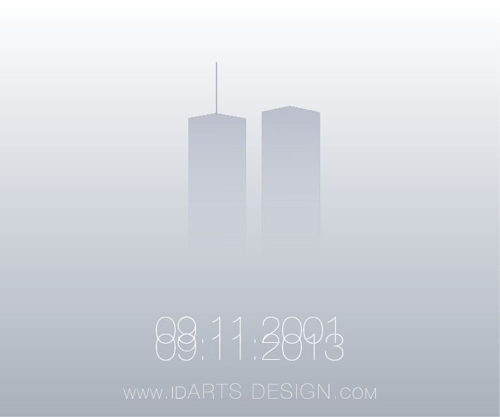 09.11.2001 - 09.11.2013 don't forget 11 september