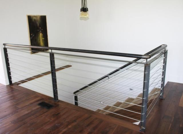 Modern Indoor Stair Railing Kits Systems For Your Inspiration 10