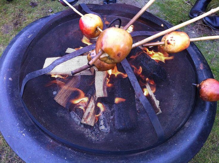 appels poffen met kaneel