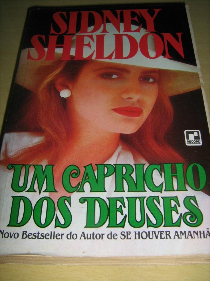 Livro Sidney Sheldon : Um Capricho Dos Deuses : Best-seller!
