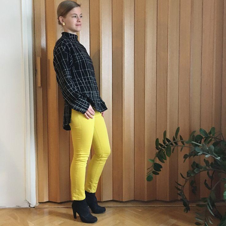 "109 Likes, 4 Comments - Marja (@m3niemi) on Instagram: ""Named clothing Talvikki sweater, merino wool knit by Käpynen. #sewing #saumanvara #sewillaari…"""