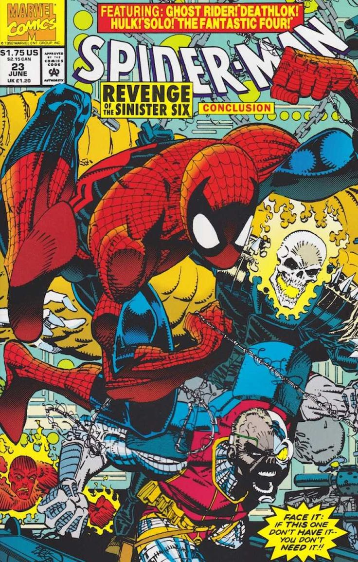Spider-Man #23 - Revenge of the Sinister Six, Conclusion (Issue)