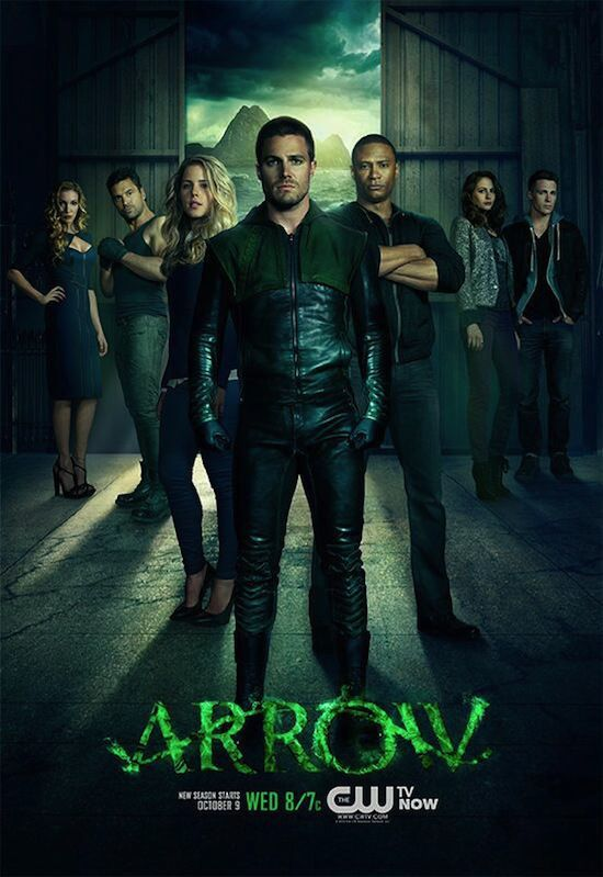 """Arrow"" : l'affiche de la saison 2 ! [PHOTO + VIDEO]"