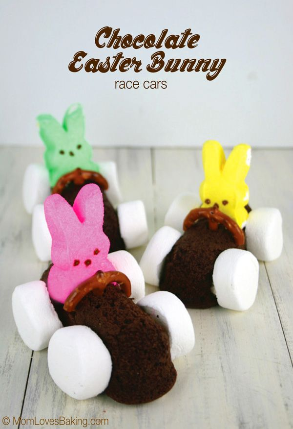 """Not only cute but they are moist and yummy to eat. I used a chocolate cake mix for the """"cars"""" and filled them with vanilla buttercream."""