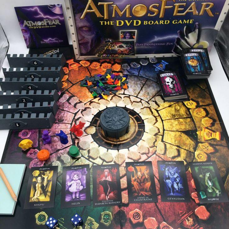Atmosfear the gatekeeper dvd board game atmosphere 100