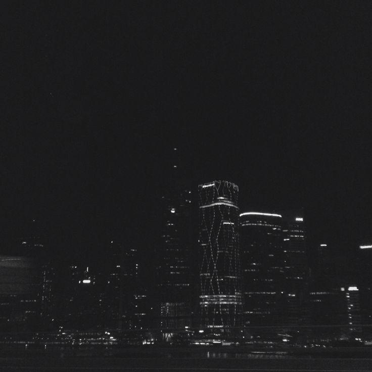 Brisbane City Lights.