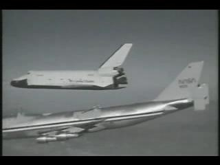 The prototype testing her wings