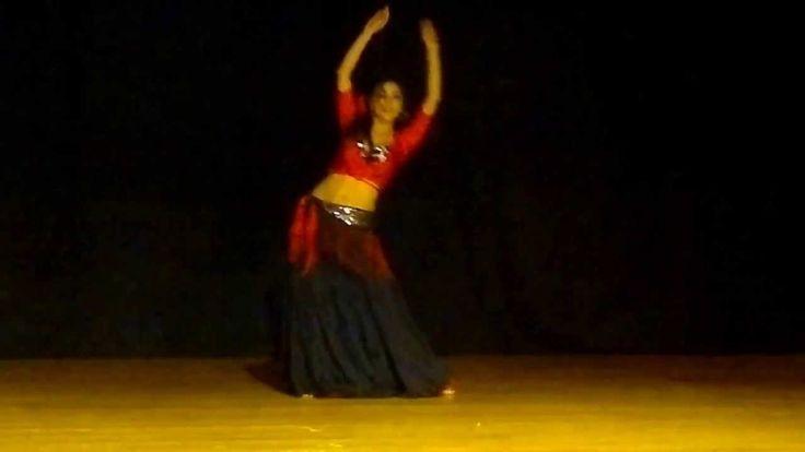 Baile arabe fusión flamenco - Al Andalus