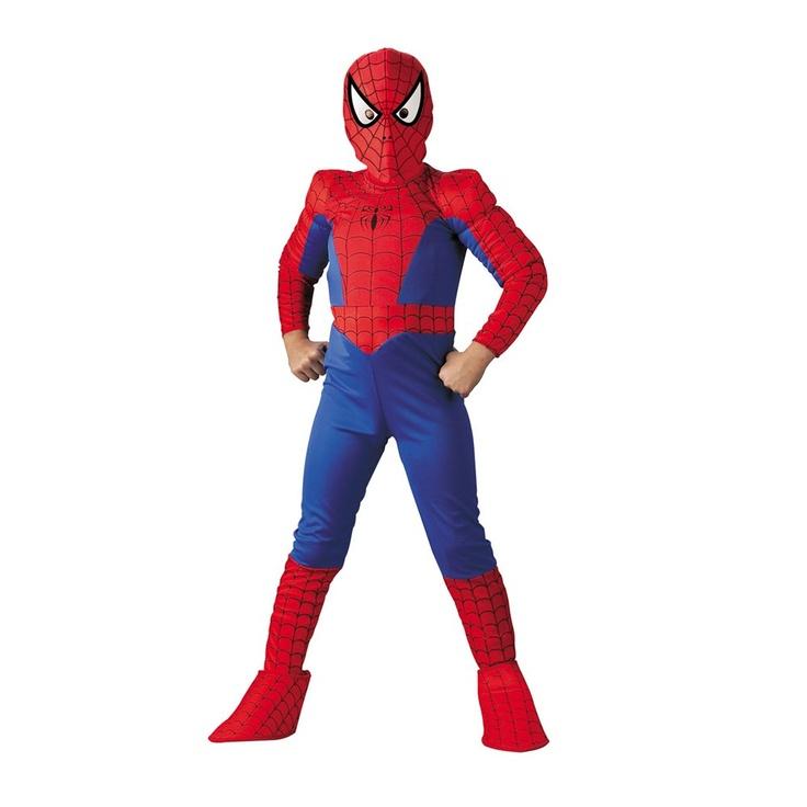 Authentic Spiderman Costume Kids