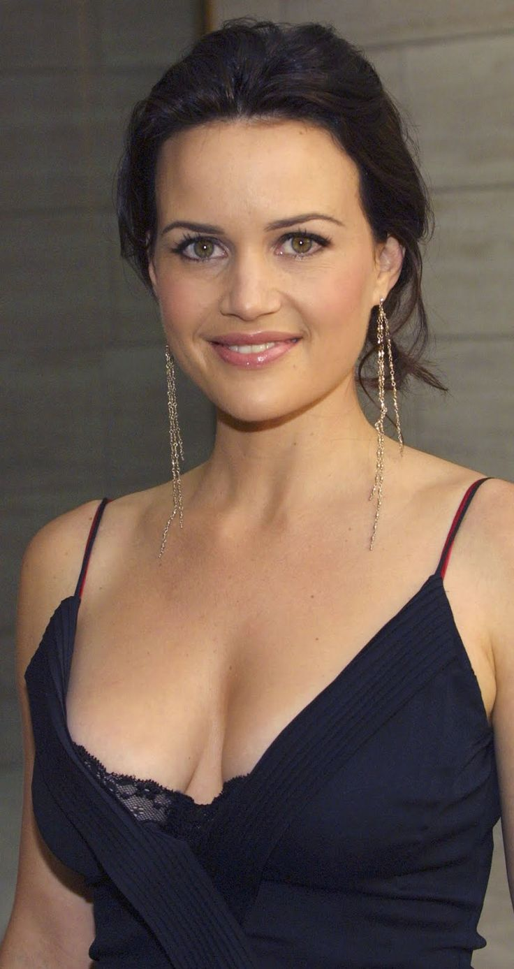 Carla Gugino (born: August 29, 1971, Sarasota, FL, USA) is an American actress. She is known for her roles as Ingrid Cortez in the Spy Kids film trilogy, Sally Jupiter in Watchmen, Dr. Vera Gorski in Sucker Punch, and as the lead characters of the television series Karen Sisco and Threshold.
