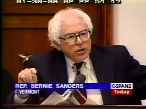 Bernie Sanders Grills Robert Rubin on IMF policy (1/30/1998)