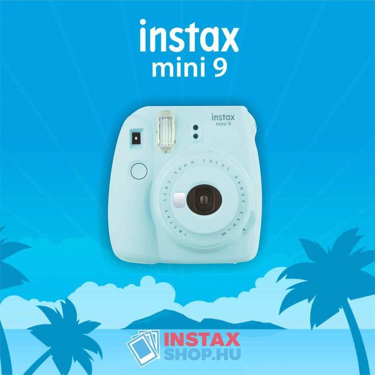 Fujifilm Instax Mini 9 - A 2017-es év legdivatosabb instant fényképezőgépe