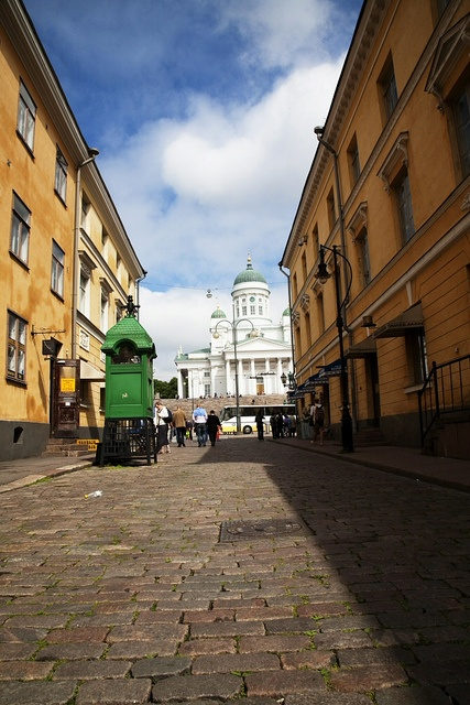 A view to Helsinki cathedral by Visit Finland, via Flickr
