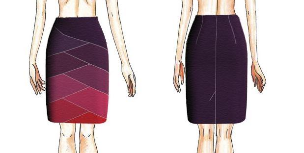 W zimie trochę nogi zakryć trzeba, więc miniówka wcale nie jest krótka. To tak dla przekory i w trosce o Wasze zdrowie. Zadbamy również o Wasze zapasy, które ciężko wyrzucić z szafy. Dziś spódnica, która może zostać wykonana z przeróżnych skrawków.