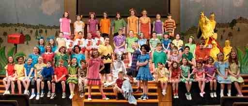 You're a Good Man, Charlie Brown ~ Cast Photo ~ Costume Designer ~ Karen DeMarino