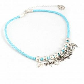 Bibi Bijoux turquoise rope necklace