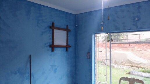 New walls double coated.