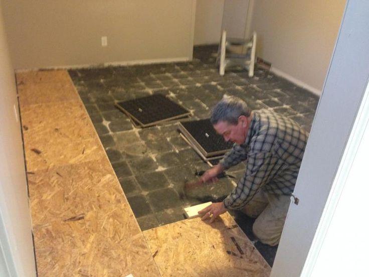 Basement Floors Laminate Flooring, Vapour Barrier Laminate Flooring