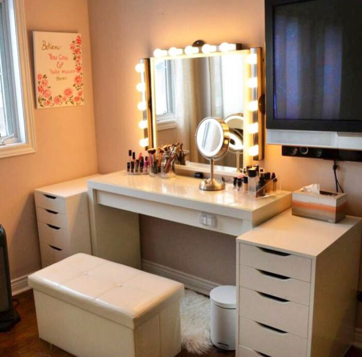 Photographic Gallery The vanity set up of my dreams IKEA made