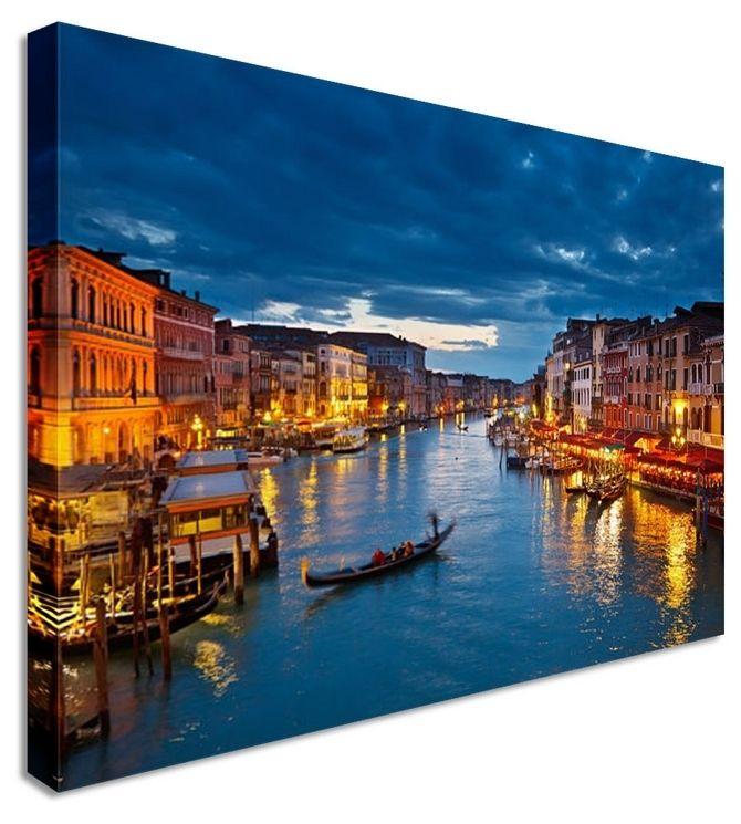 venice canals by landscape art canvas prints canvas art cheap prints by - Cheap Canvas Wall Art