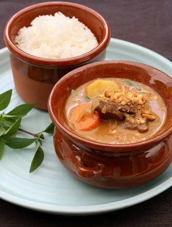 Bill Granger's beef massaman curry. - 12 points