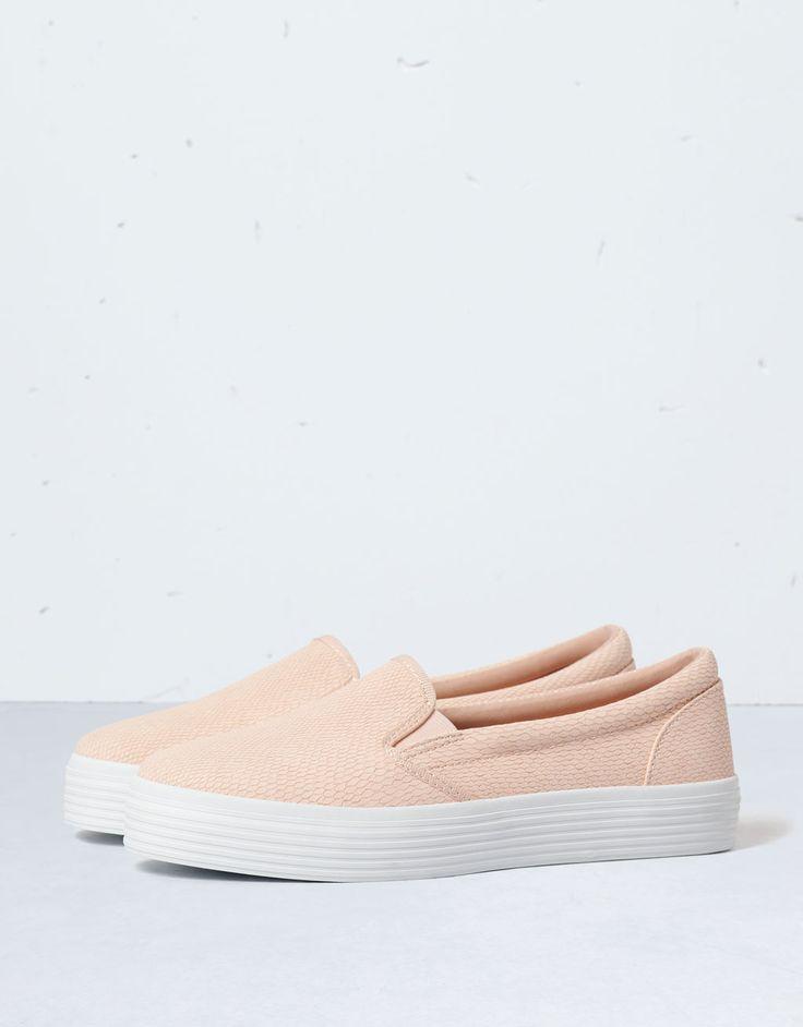 Slip On Bershka - Zapatos - Bershka Mexico