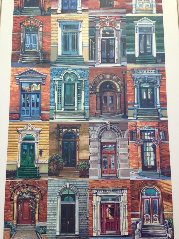 Doors of Saint John NB