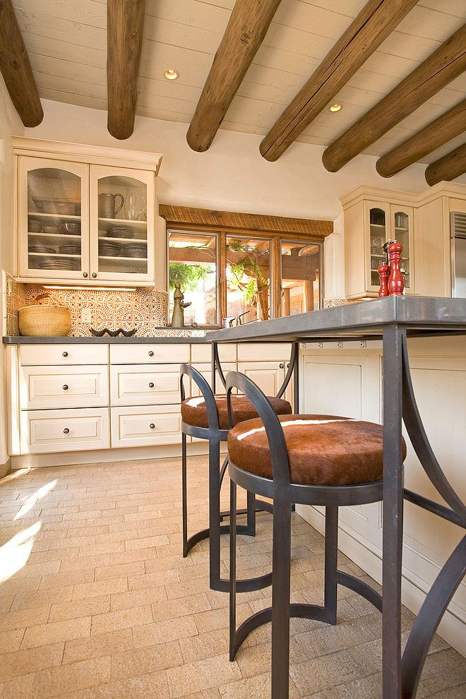 Santa Fe Chic By Samuel Design Group Love The Metal Feature On The Chairs,  Combined With Timber