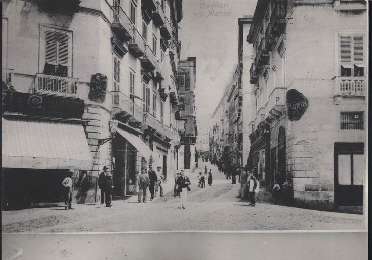 Via Manno – 1880