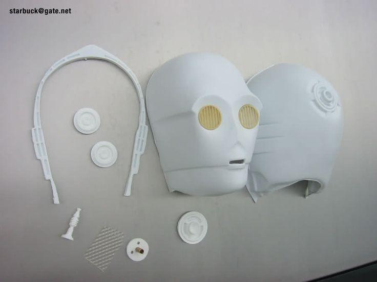 TK409.com Do-It-Yourself Star Wars Props - C3po Costume C3p0 C-3po ...