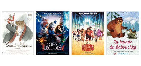 Sorties ciné pour les vacances / Movies to watch for the holidays