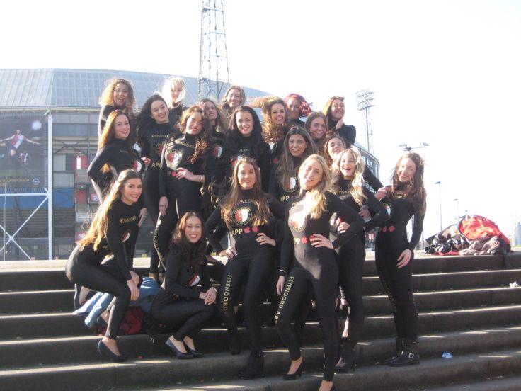 Promotieteam Feyenoord Facebook Fotomarketing Actie de Kuip Rotterdam