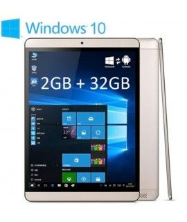 Onda V919 Air Tablet PC Intel Z3735F 64bit Quad Core 1.83GHz with 9.7 inch QXGA IPS Retina Screen Windows 10 + Android 4.4 32GB ROM Cameras 128GB TF Card Supported