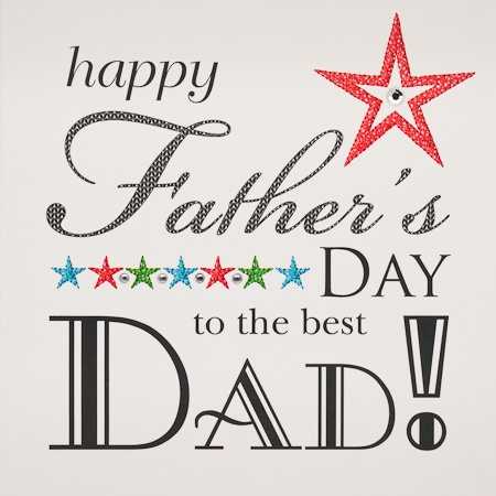 IS25 Happy Father's Day Best Dad