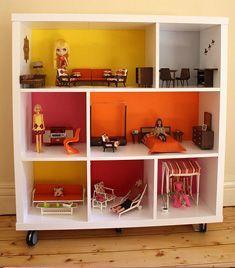 Comment transformer un meuble IKEA en maison de poupée ? | Enviedacheter.fr