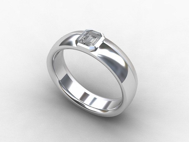 Best Mens White Gold Wedding Bands With Diamonds Images On