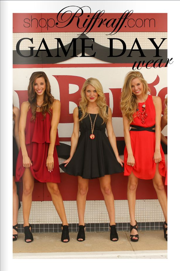 BOOMER SOONER! Game day dresses in honor of national signing day!! ❤️