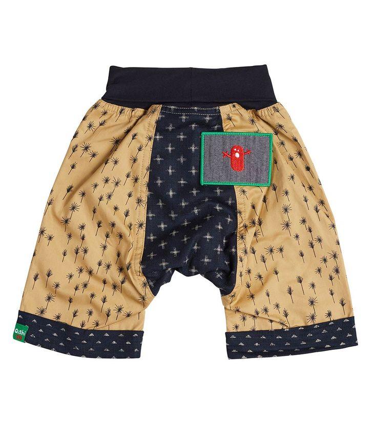Cool Breeze Short, Oishi-m Clothing for kids, HiSummer  2017, www.oishi-m.com