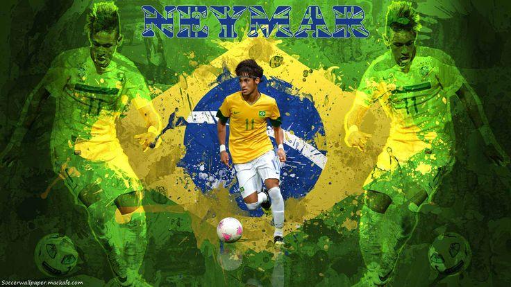 Football Galaxy: Neymar 2013 Wallpapers HD