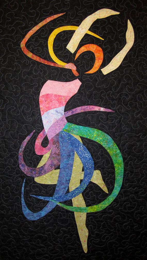 Music Within Art Quilt by JaneHicksQuilts on Etsy, $400.00